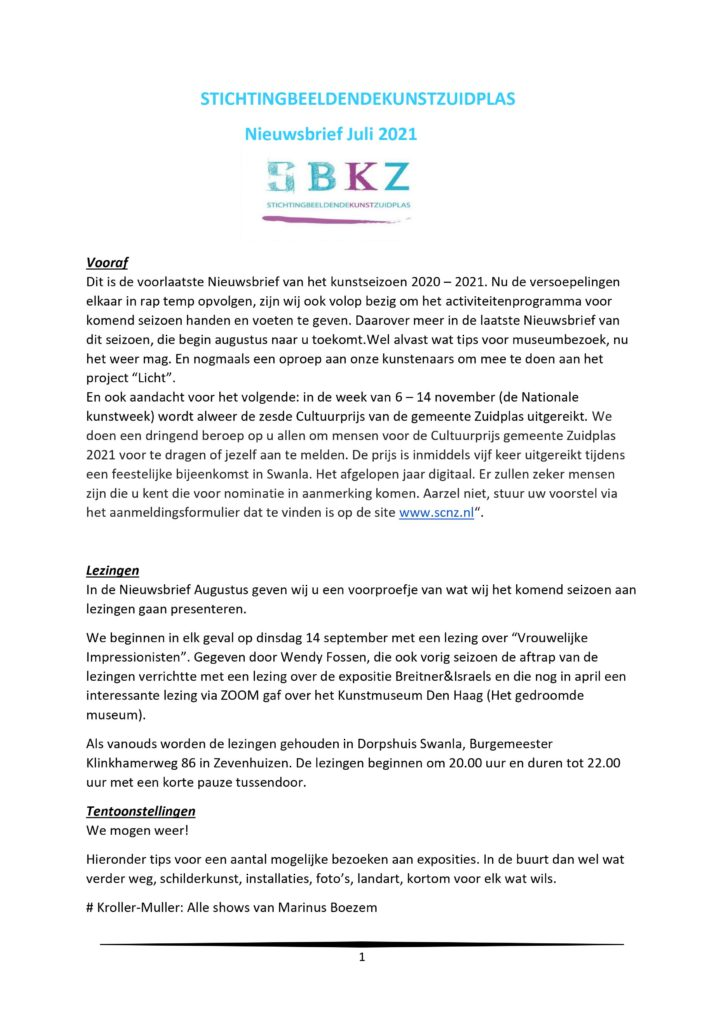 Nieuwsbrief juli 2021-1