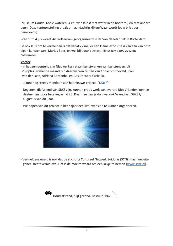 Nieuwsbrief juni 2021-2
