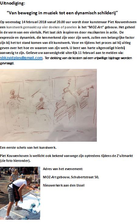 Piet Kouwenhoven Kunstmanifestatie