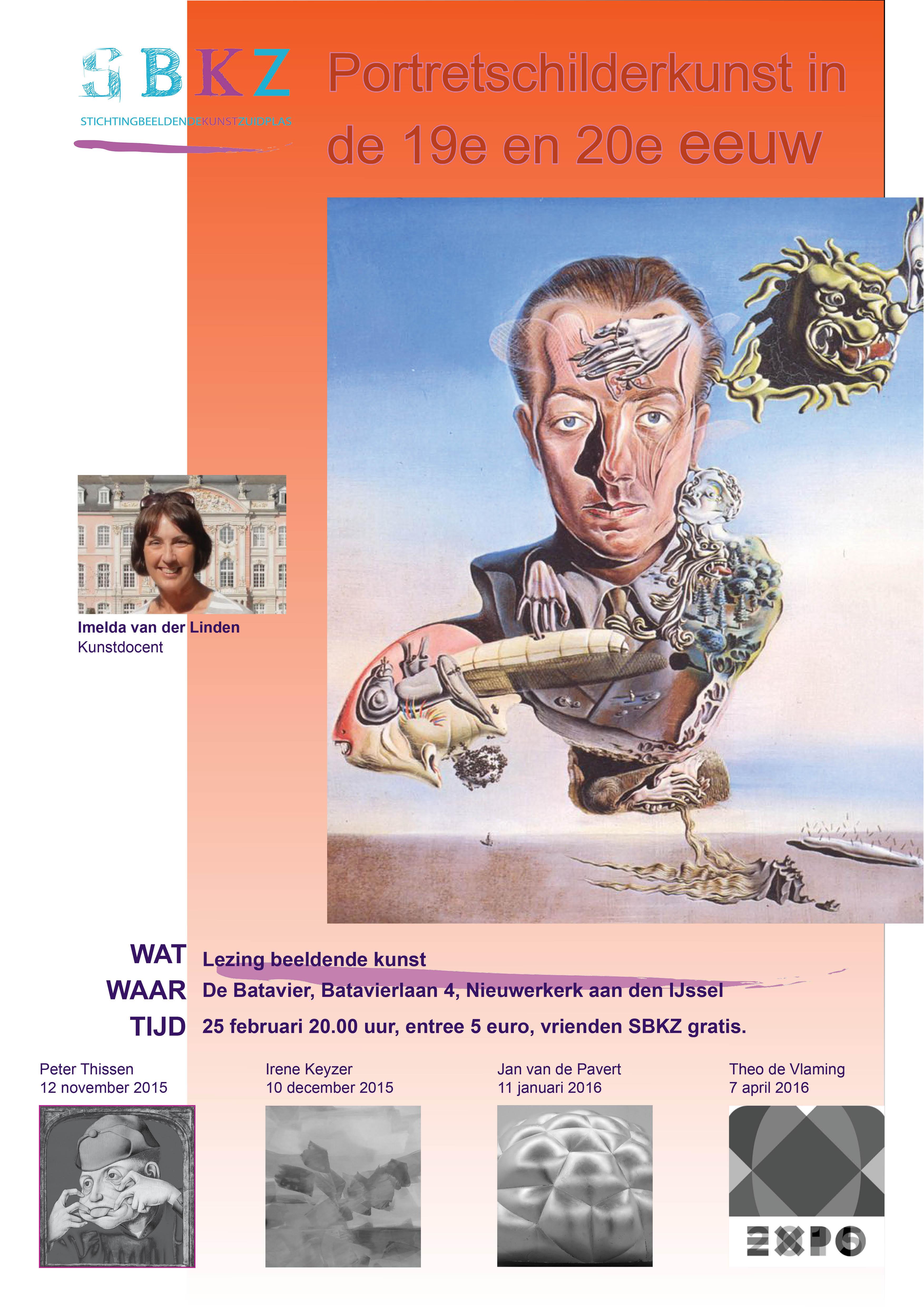 poster  lezingen Imelda van der Linden 2015-2016