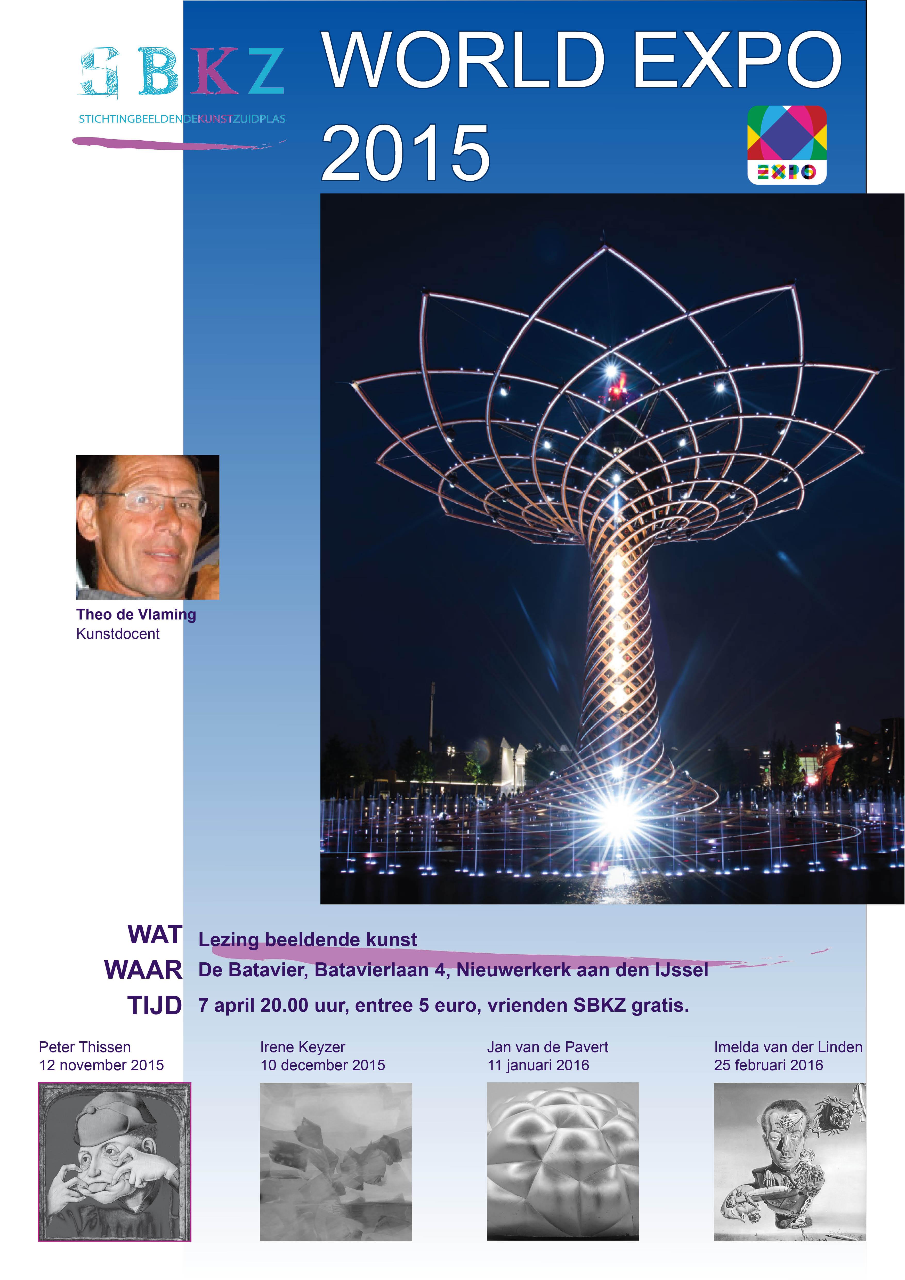 poster  lezingen Theo de Vlaming 2015-2016