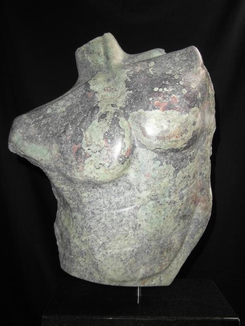 Elselien Taconis , mannen torso
