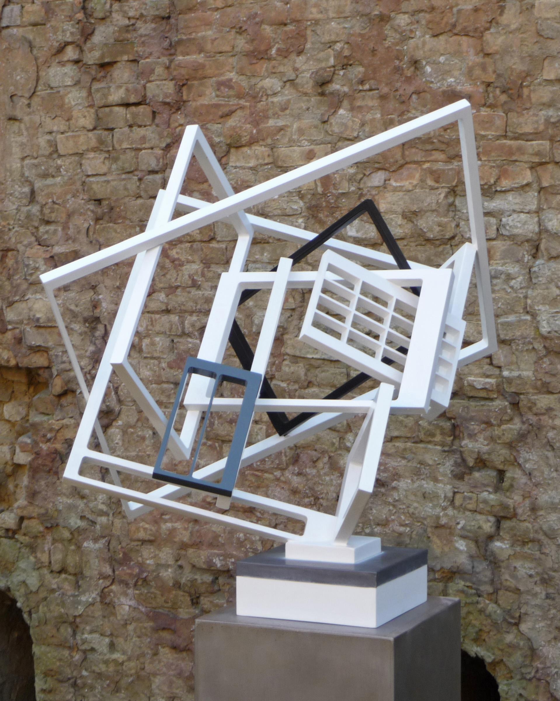 Ron van Savoijen, kubistisch sculptuur