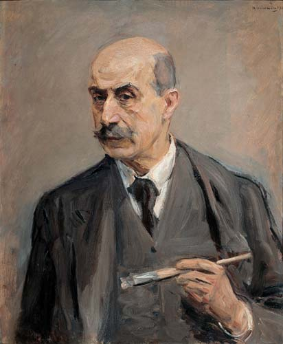 Self-Portrait with Brush, 1913