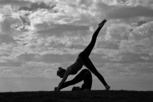 yoga aan de Rotte